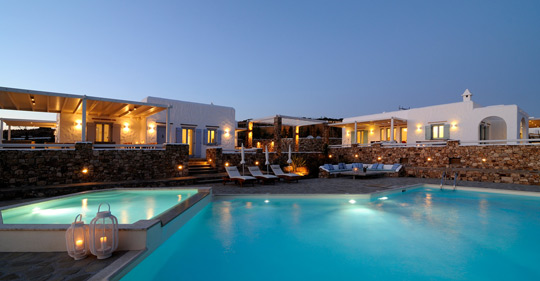 Koufonisi villas with view Cyclades Aegean
