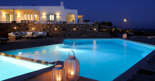 Koufonissi villas with view Cyclades Aegean